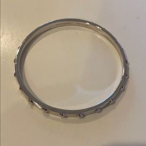 Kate spade silver studded bracelet